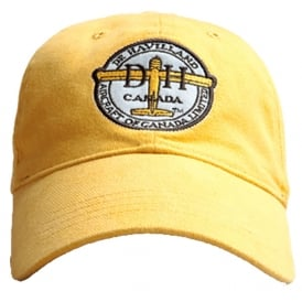 de Havilland Baseball Cap - Burnt Yellow