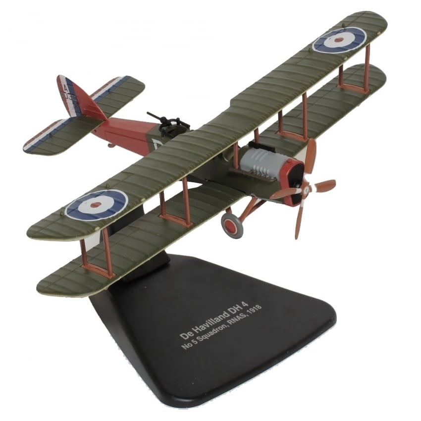 De Havilland DH4 No.5 Squadron RNAS 1918 - Scale 1:72