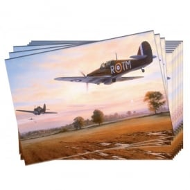Defending The Line Greeting Cards - Pack of 10