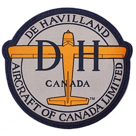 deHavilland Logo Patch - Small