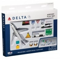 Delta Airlines 12 Piece Model Play Set