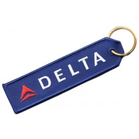 Delta Embroidered Keyring