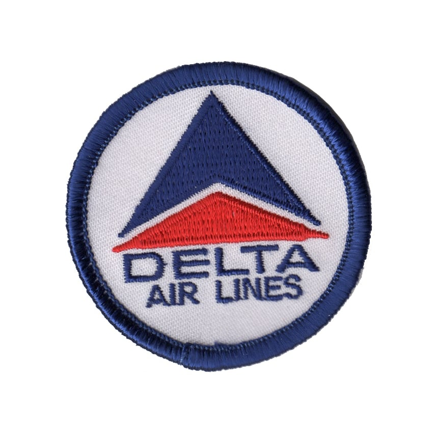 Delta Logo Small Iron on Patch