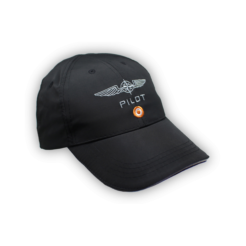 Pilot MicroFibre Cap in Black