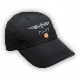 Design 4 Pilots Pilot MicroFibre Cap in Black