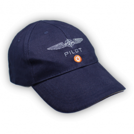 Design4Pilots Pilot Cotton Cap in Blue
