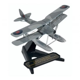 DH Tiger Moth Floatplane Royal Navy Diecast Model 1:72