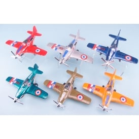 Die Cast Pull Back Airplane