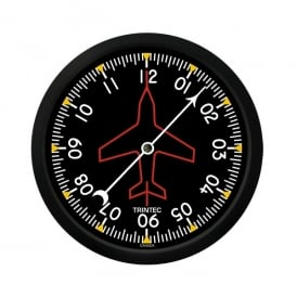 "Directional Gyro 10"" Wall Clock - 2060 Series"