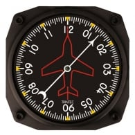 "Directional Gyro 6"" Wall Clock - 2060 Series"
