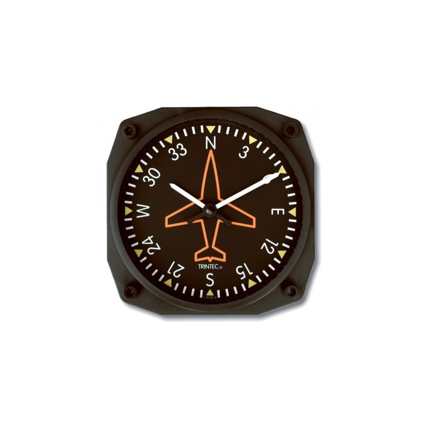 "Directional Gyro 6"" Wall Clock - Classic Series"