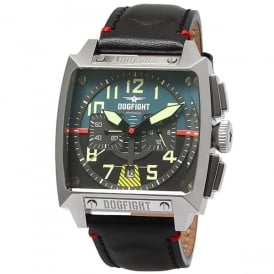 Dogfight Experten Watch - Blue / Black Face