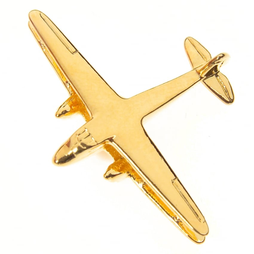 Dragon Rapide Boxed Pin - Gold