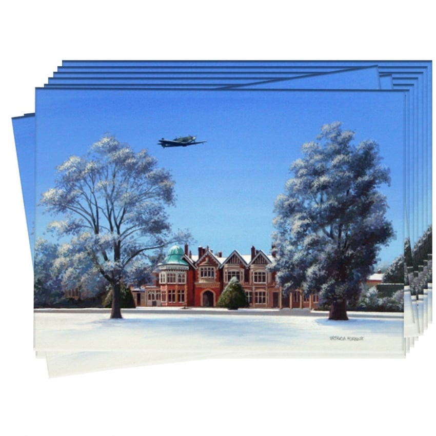 Due Respect Bletchley Christmas Cards - Pack of 10