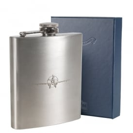 Imperial War Museum Duxford Spitfire Hipflask