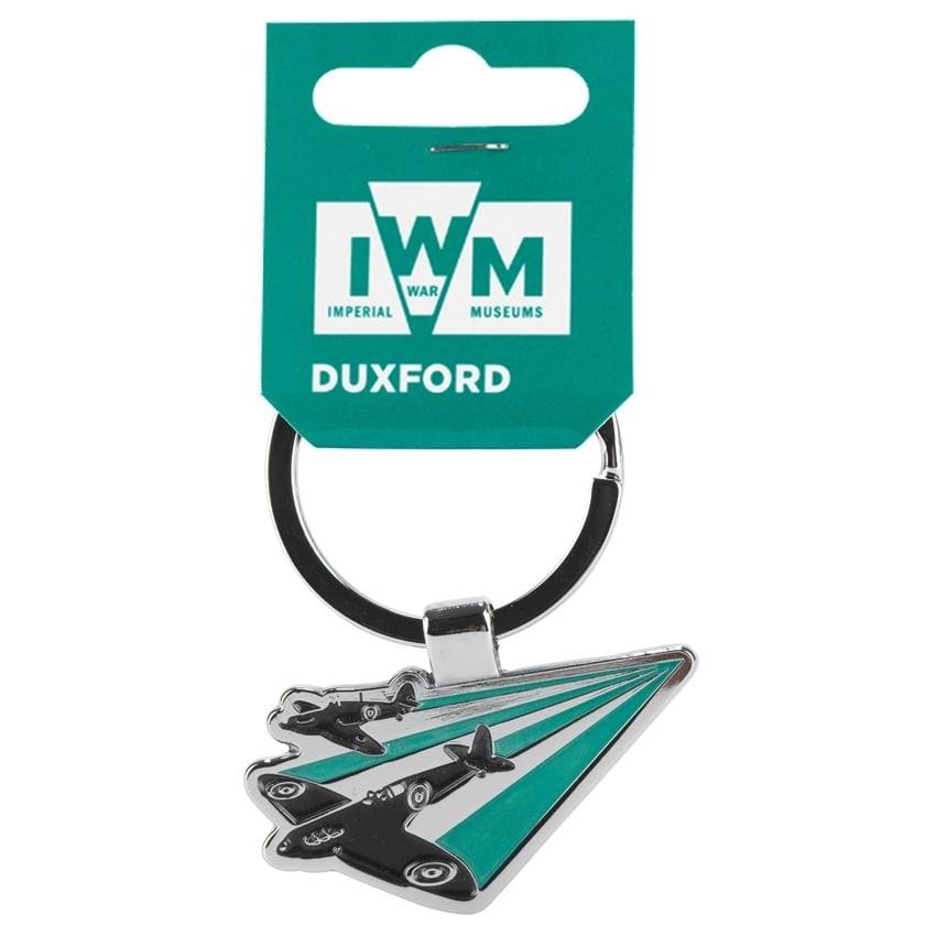 Duxford Sweep The Skies Keyring