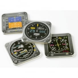 EFIS Instrument Coaster Set of 4