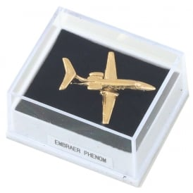 Embraer Phenom Boxed Pin - Gold