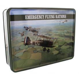 RAF Emergency Flying Rations Tin Storage Box