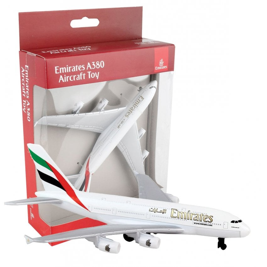 Emirates A380 Diecast Toy