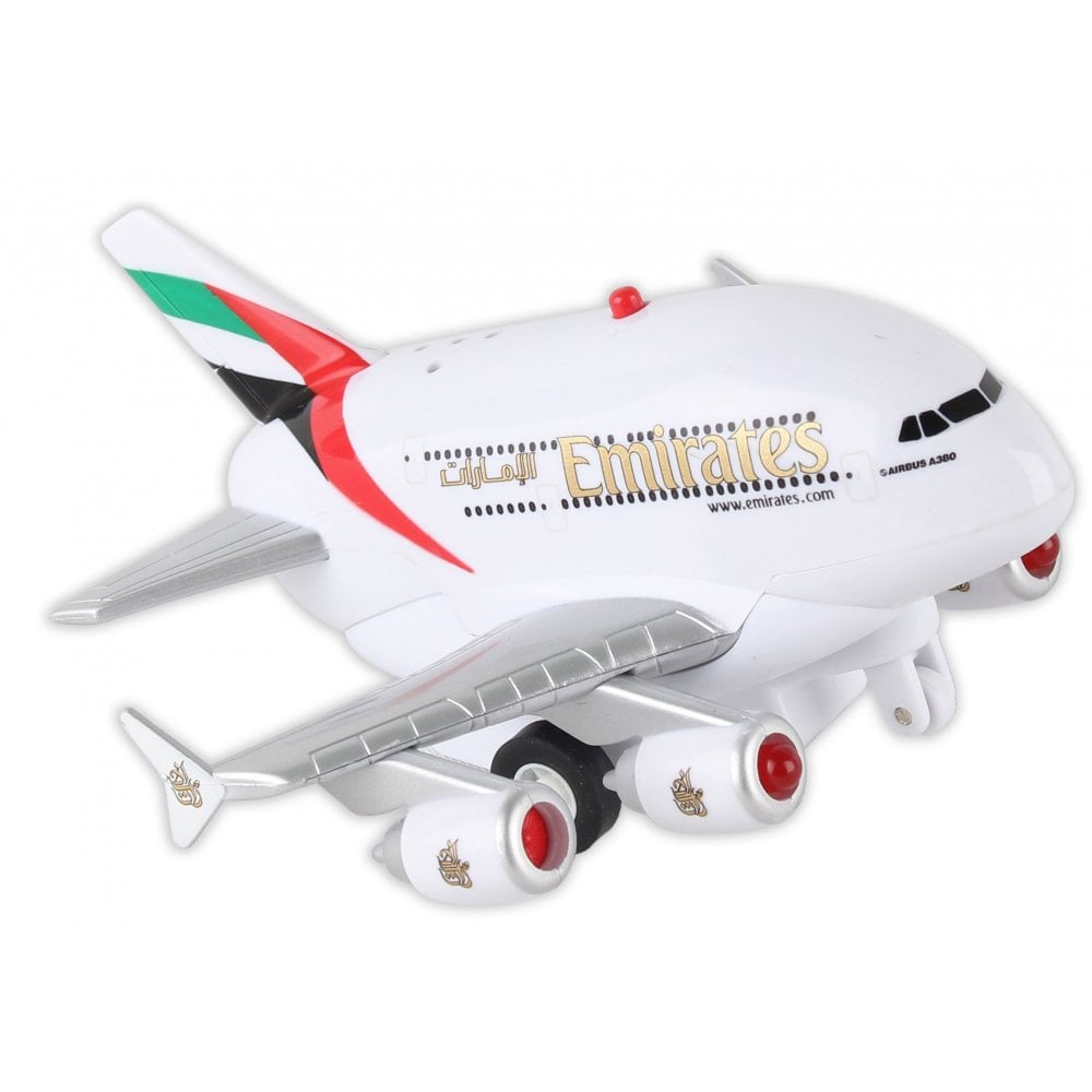 Real Toys Emirates A380 Pull Back Toy