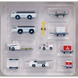 Emirates Ground Set Airport Tugs 1:200 Scale Accessory Set