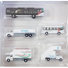 Emirates Ground Set Buses 1:200 Scale Accessory Set
