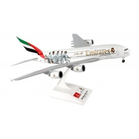Emirates Real Madrid Livery Airbus A380 Model - Scale 1:200