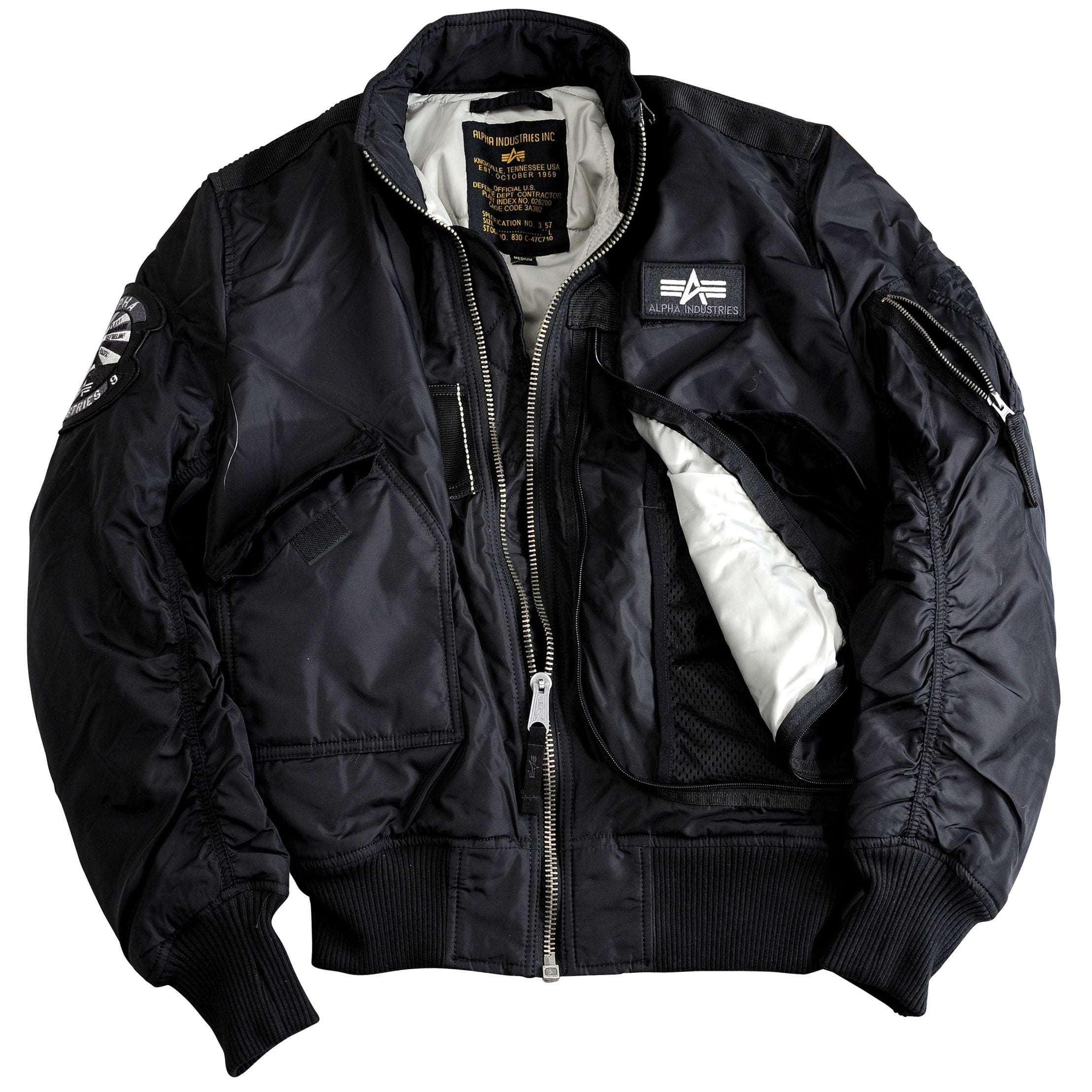 alpha industries engine jacket in 5 colours. Black Bedroom Furniture Sets. Home Design Ideas