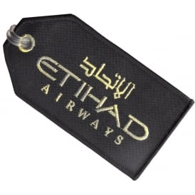 Ethiad Airways Embroidered Baggage Tag