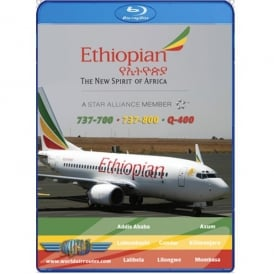 Ethiopian Airlines 737-700 Blu-ray