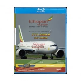 Just Planes Ethiopian Airlines 777-200LR Blu-Ray
