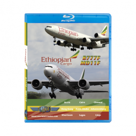 Just Planes Ethiopian Airlines B777 Cargo Blu-Ray