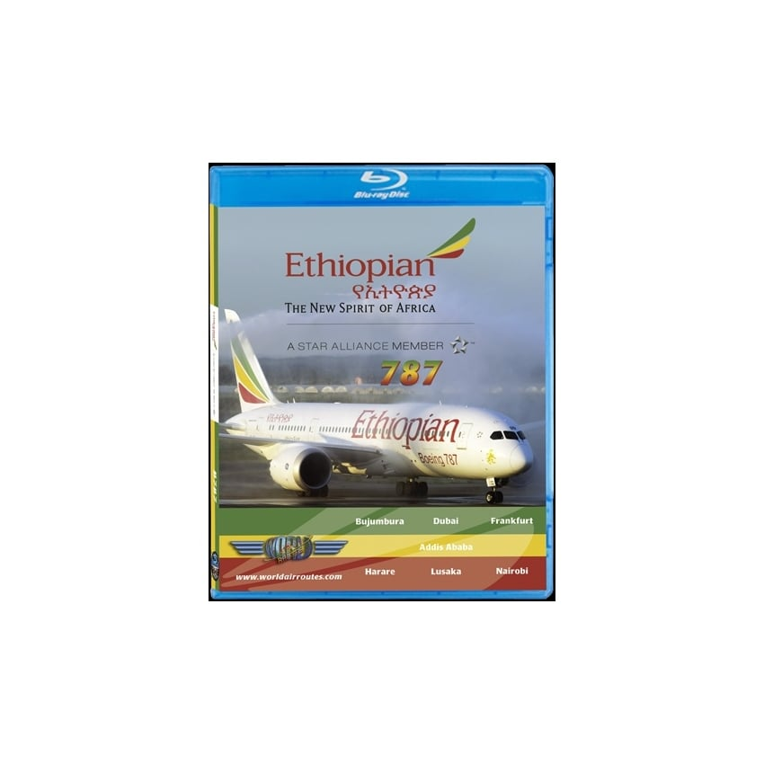 Ethiopian Airlines B787-8 Blu-Ray
