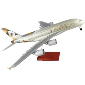 Etihad Airways Airbus A380 Plastic Model - Scale 1:100