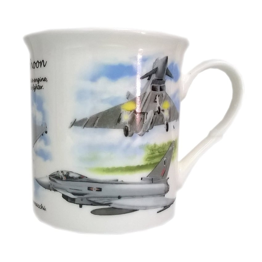 Eurofighter Typhoon China Mug
