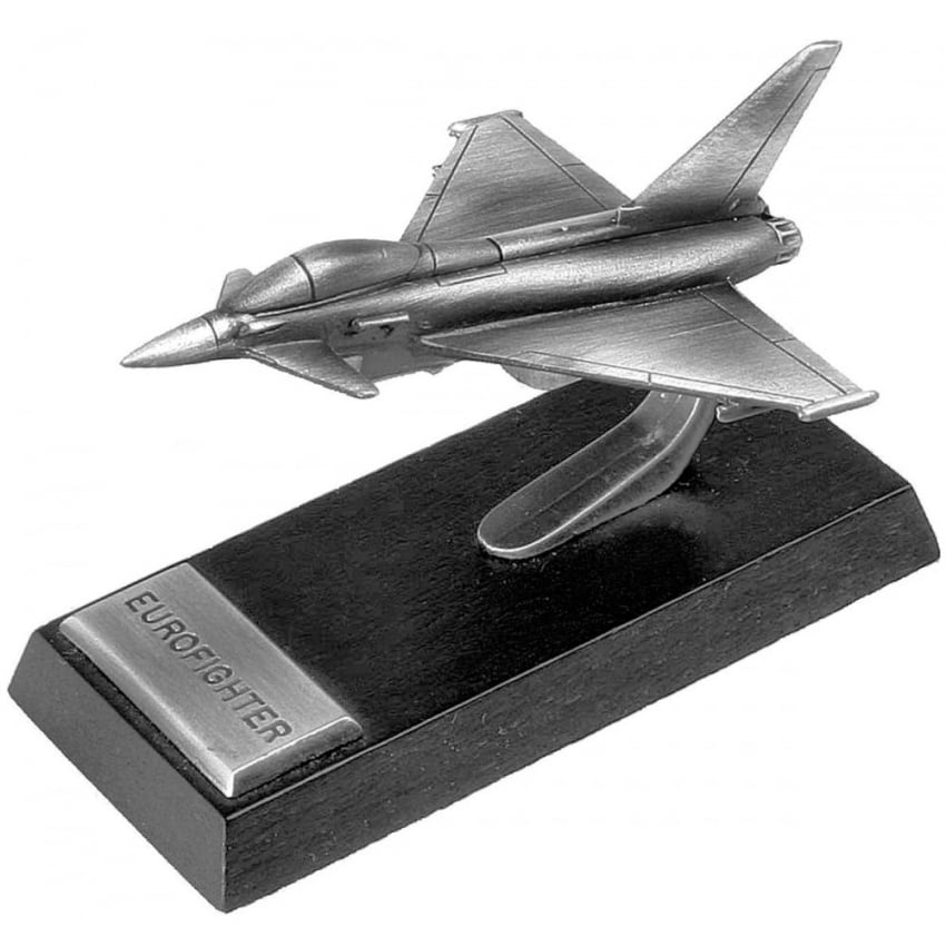 Eurofighter Typhoon Desk Model - Pewter