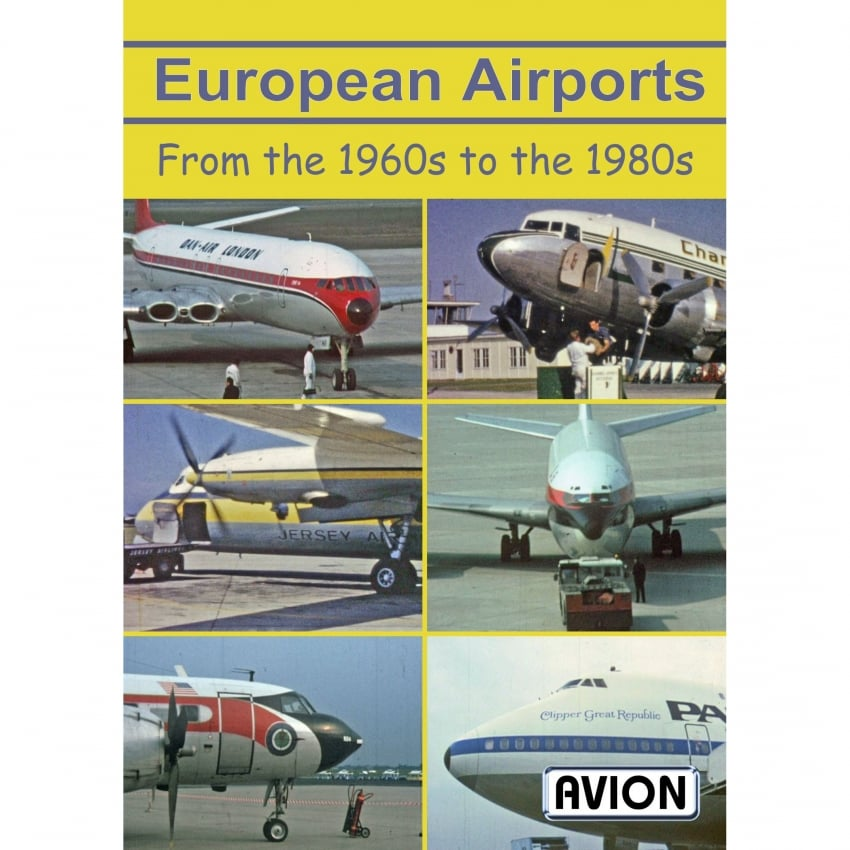 European Airports - 1960s to 1980s DVD
