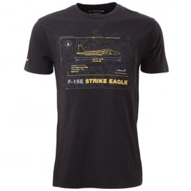 F-15E Strike Eagle Schematics T-Shirt