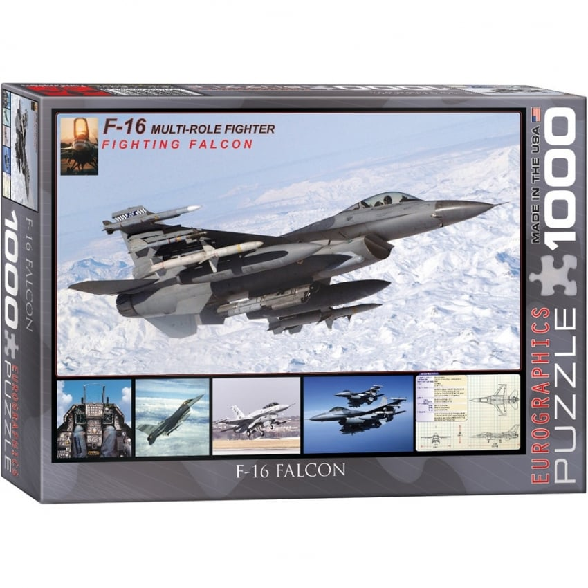 F-16 Fighting Falcon Jigsaw (1000 pieces)