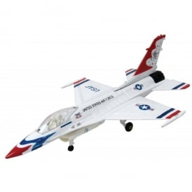 F-16 Thunderbird Die Cast Model Aircraft - Scale 1:48