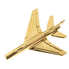 F100 Super Sabre Boxed Pin - Gold