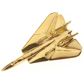 F14 Tomcat Boxed Pin - Gold