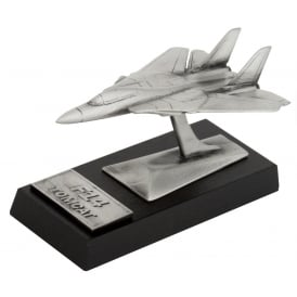 Clivedon F14 Tomcat Desk Model - Pewter