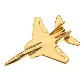F15 Eagle Boxed Pin - Gold