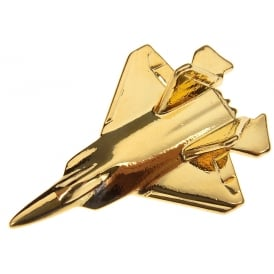 F22 Raptor Boxed Pin - Gold