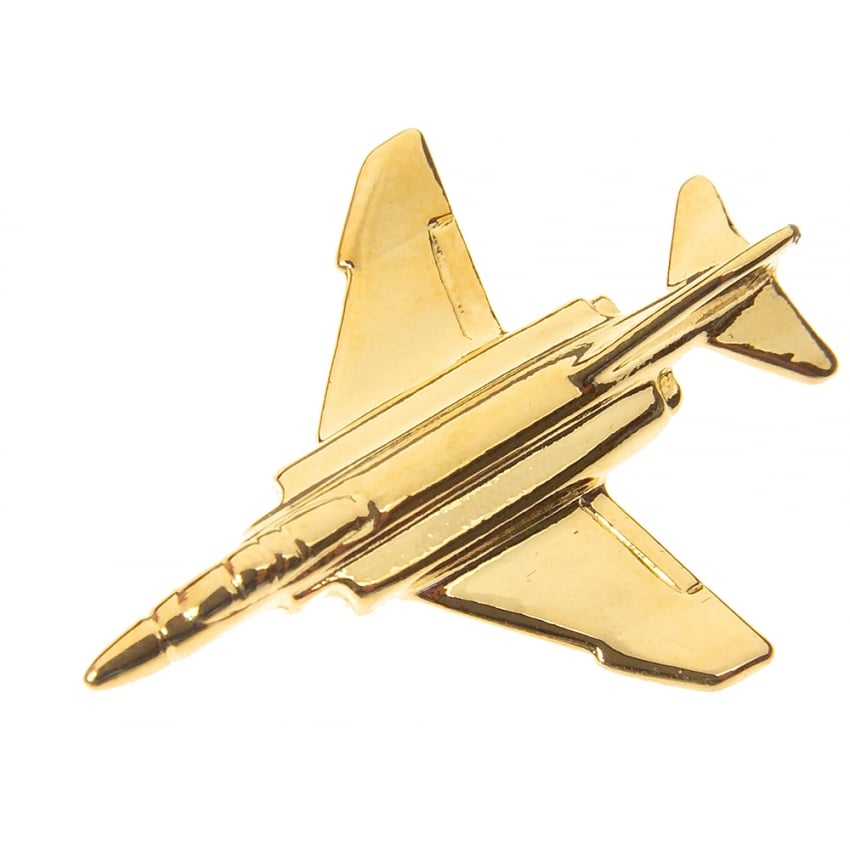F4 Phantom Boxed Pin - Gold