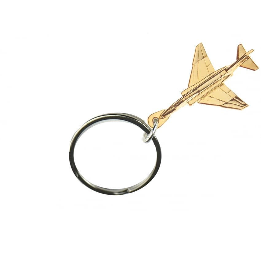 F4 Phantom Keyring - Gold
