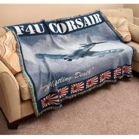 F4U Corsair Blanket / Throw