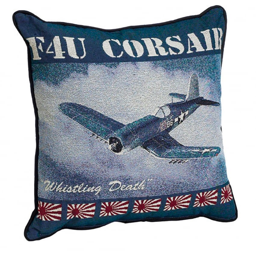 F4U Corsair Filled Cushion